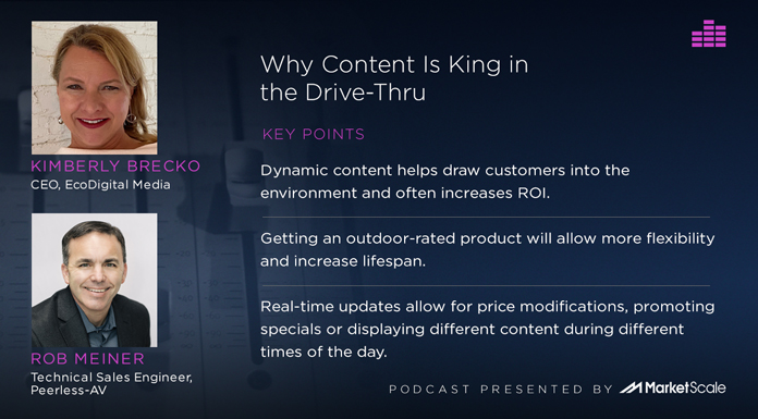 Podcast: Why Content is King in the Drive-Thru